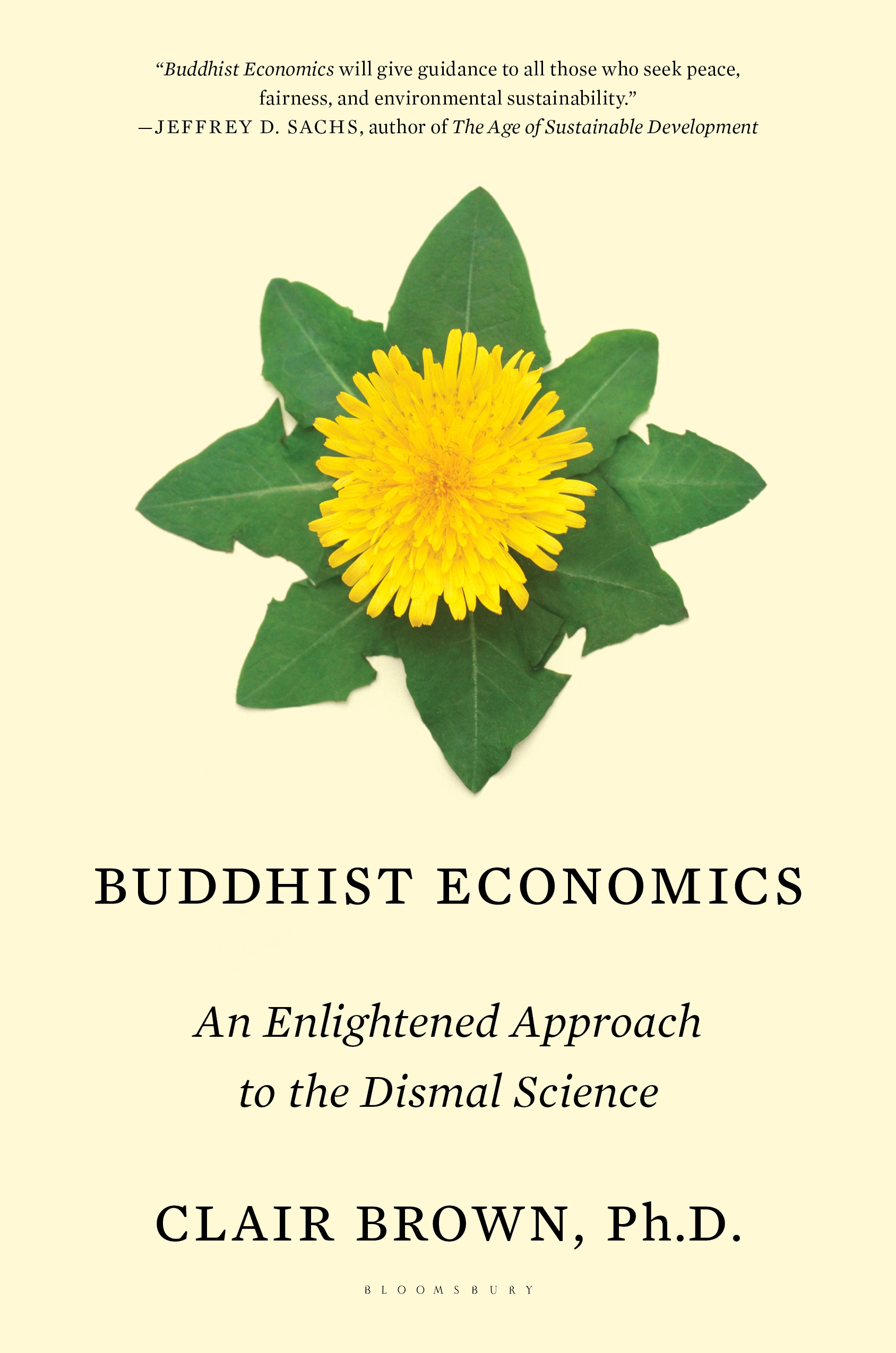 buddhist economics Clair brown argues for an economy that brings out the best in people, not the most self-centered and shortsighted.